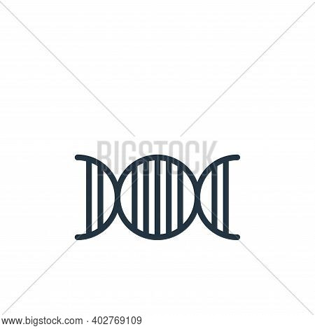nerve icon isolated on white background. nerve icon thin line outline linear nerve symbol for logo,