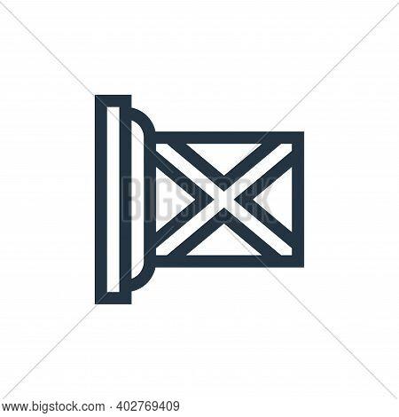 scotland icon isolated on white background. scotland icon thin line outline linear scotland symbol f