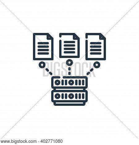 file upload icon isolated on white background. file upload icon thin line outline linear file upload