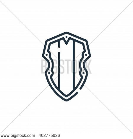 wooden icon isolated on white background. wooden icon thin line outline linear wooden symbol for log