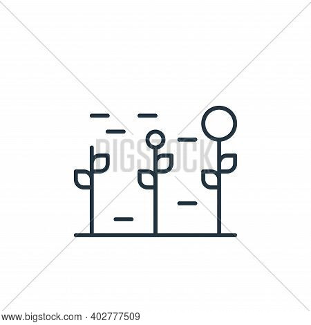investment icon isolated on white background. investment icon thin line outline linear investment sy