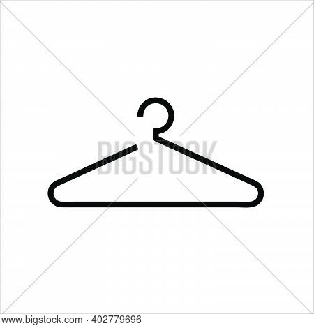 Hanger Icon Isolated On White Background From Shopping Collection. Trendy Hanger Icon And Modern Han