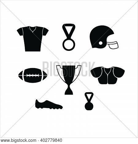Trophy Icon On White Background. Flat Style. Trophy Icons For Your Website Design, Logo, App, Ui. Tr