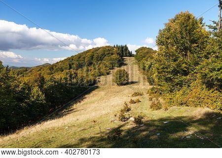 Mala Fatra. Mountain View From Lucanska  Mala Fatra Mountains. Slovakian Carpathian Mountains. Slova