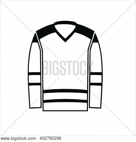 Turtleneck Sweater Icon Isolated On White Background From Winter Collection. Trendy Turtleneck Sweat
