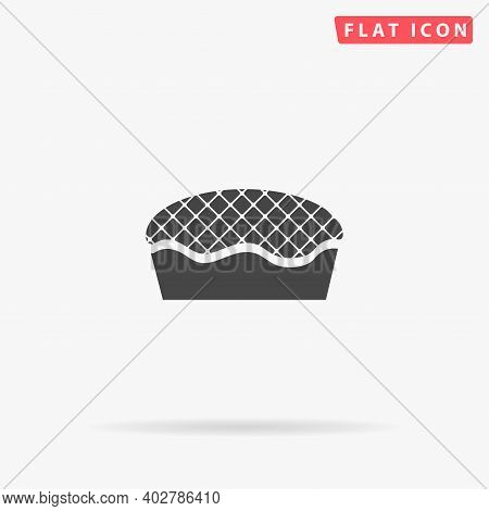 Pie Flat Vector Icon. Hand Drawn Style Design Illustrations.