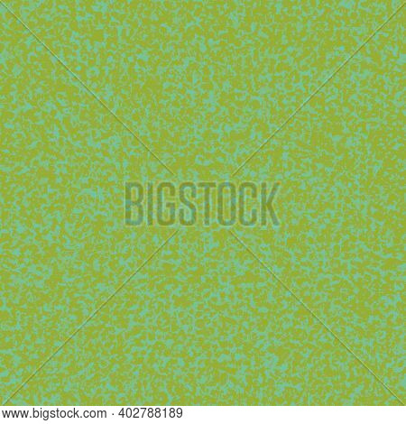 Abstract Grass Flooring Seamless Vector Repeat Background. Irregular Sprinkled Green Design. Close U