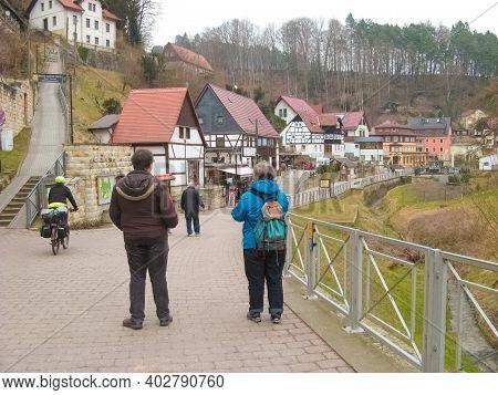 Rathen, Saxon Switzerland, Germany