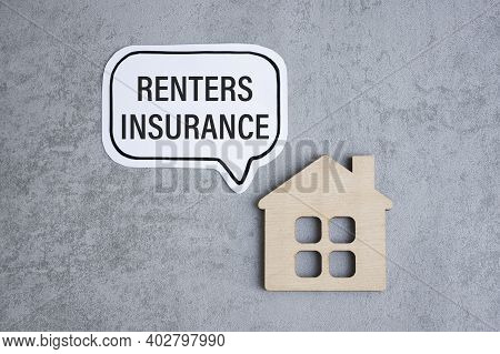 Applying For A Renters Insurance, Renters Insurance Application Form With A Pen On A Desk