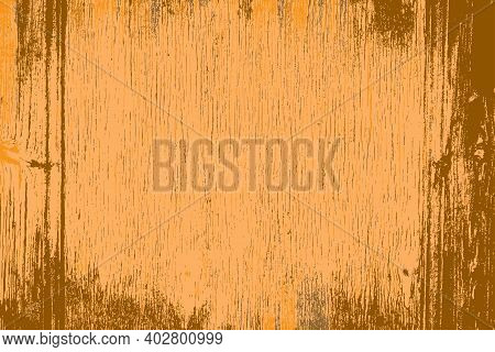 Grunge Wood Background, Color Grainytexture. Eps10 Vector.