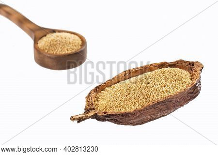 Amaranth Seeds In Organic Bowl - Amaranthus