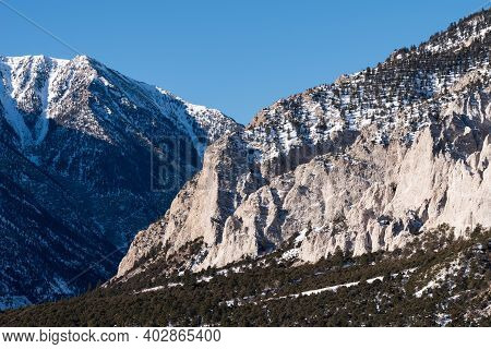 Near Buena Vista Colorado The Chalk Cliffs Of Mount Princeton, Colorado. \nchalk Cliffs Are Not Real