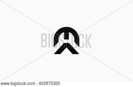 Ma Am Letter Monogram Logo Design Vector Illustration
