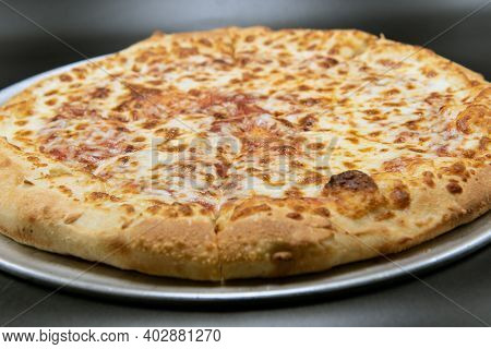 Cheese Pizza For That Plain Flavor That Many Picky Eaters Prefer.