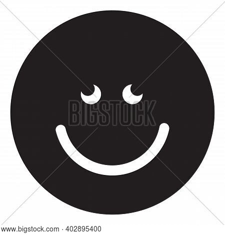 Laughing Emoji Icon Isolated On White Background From Emoji Collection. Laughing Emoji Icon Trendy A