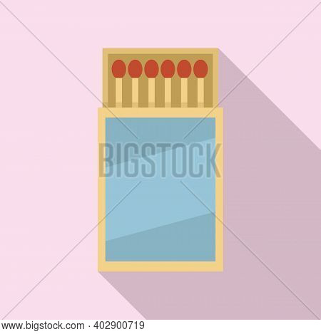 Swedish Wood Match Icon. Flat Illustration Of Swedish Wood Match Vector Icon For Web Design