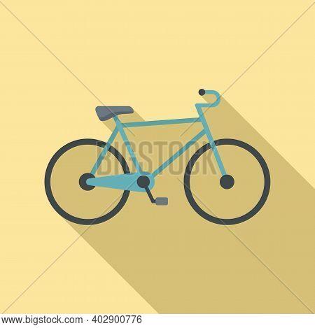 Swedish Bike Icon. Flat Illustration Of Swedish Bike Vector Icon For Web Design