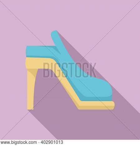 Swedish Traditional Shoes Icon. Flat Illustration Of Swedish Traditional Shoes Vector Icon For Web D