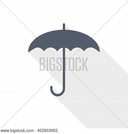 Umbrella Vector Icon, Flat Design Illustration In Eps 10