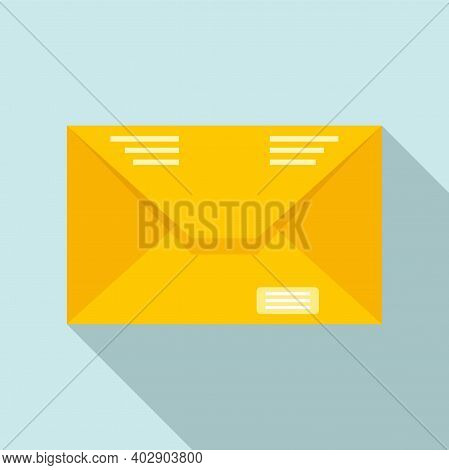 Utilities Mail Icon. Flat Illustration Of Utilities Mail Vector Icon For Web Design