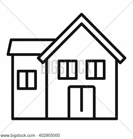 House Utilities Icon. Outline House Utilities Vector Icon For Web Design Isolated On White Backgroun