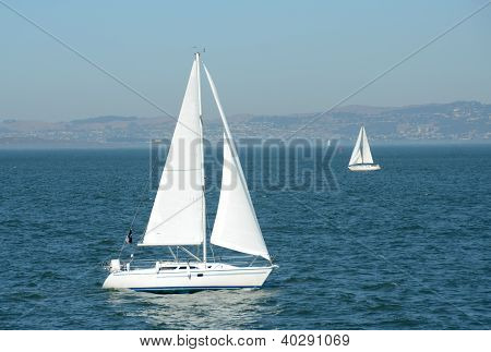 Sailing In The San Francisco Bay