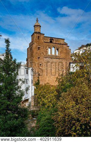 View Of The Ruins Of Santa Maria Church - Cazorla, Jaen, Andalusia, Spain, Europe