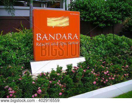 Koh Samui, Thailand - June 23, 2008: Anantara Bophut Resort Spa