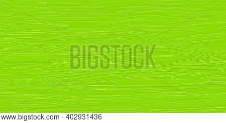 Green Painted Texture, Oil Paint Spots, Smeared Pattern On Colorful Illustration, Bright Light Green