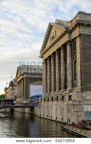 Pergamon museum in the Museumsinsel in Berlin, Germany