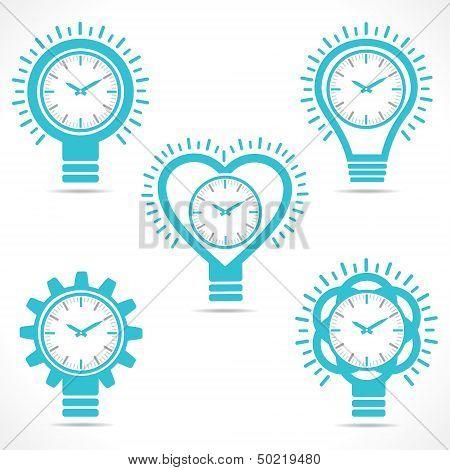 different shape clock