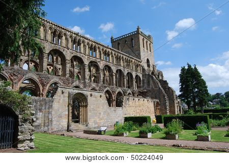 View of Jedburgh Abbey