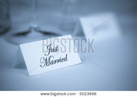 Card With Inscription