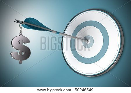 Dollar Concept, Financial Adviser Or Finance Advisory