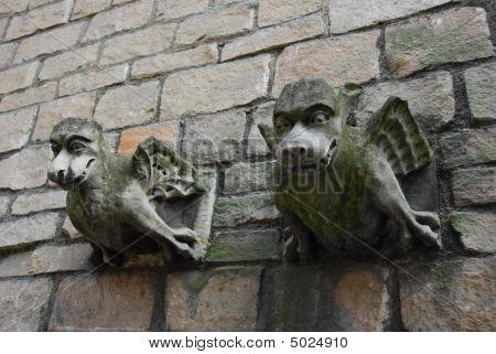 Two Gargoyles