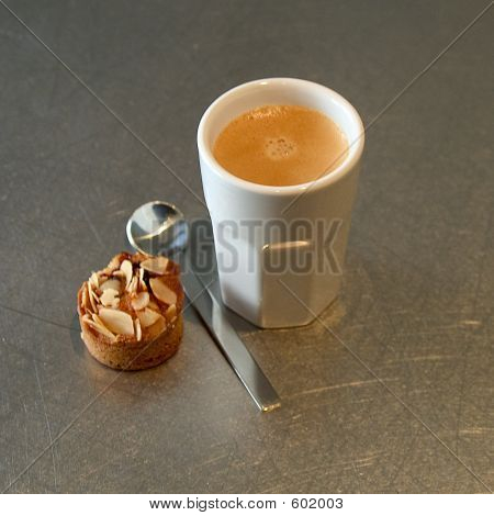 Coffe Cup Ith Cookie