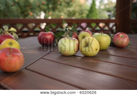 Apples On The Table