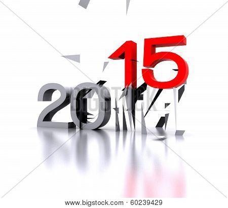 New year  2015