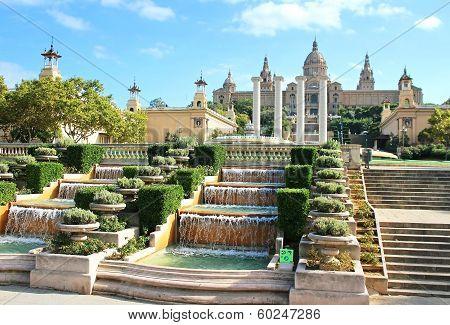 National Art Museum In Barcelona, Spain