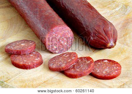 Smoked And Dried  Sausage