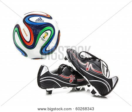 Adidas Brazuca World Cup 2014 Football