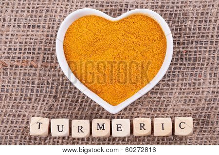 Turmeric In  Cup
