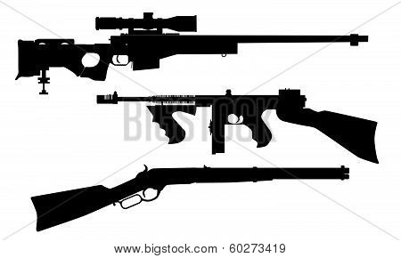 Rifle Silhouettes