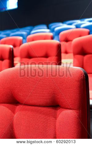 Rows Of Seats In Cinema