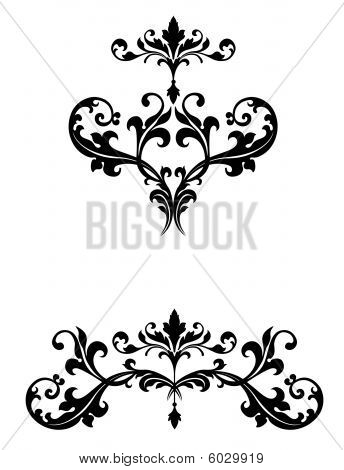 Scrollwork Ornaments