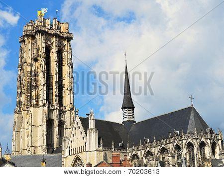 Cathedral in Mechelen Belgium