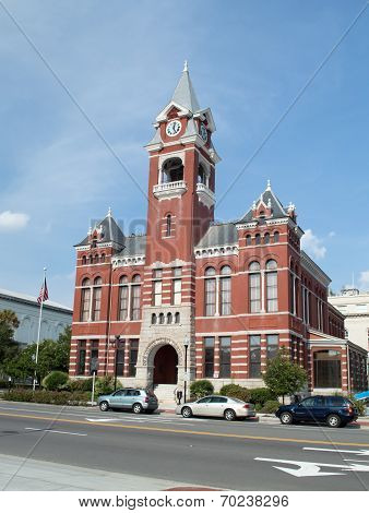 Wilmington,NC USA August 17-New Hanover County Courthouse