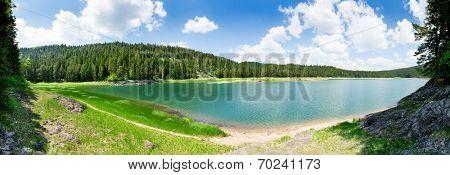 Crno Jezero, Montenegro poster