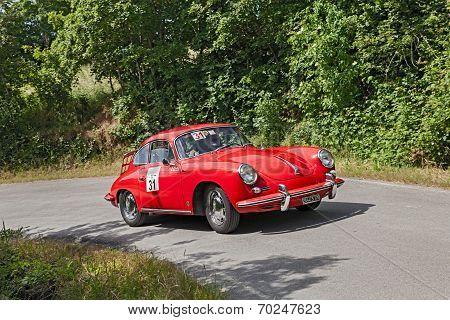 Vintage Porsche 356 Sc (1963)