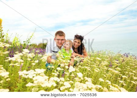 Family In The Outdoors